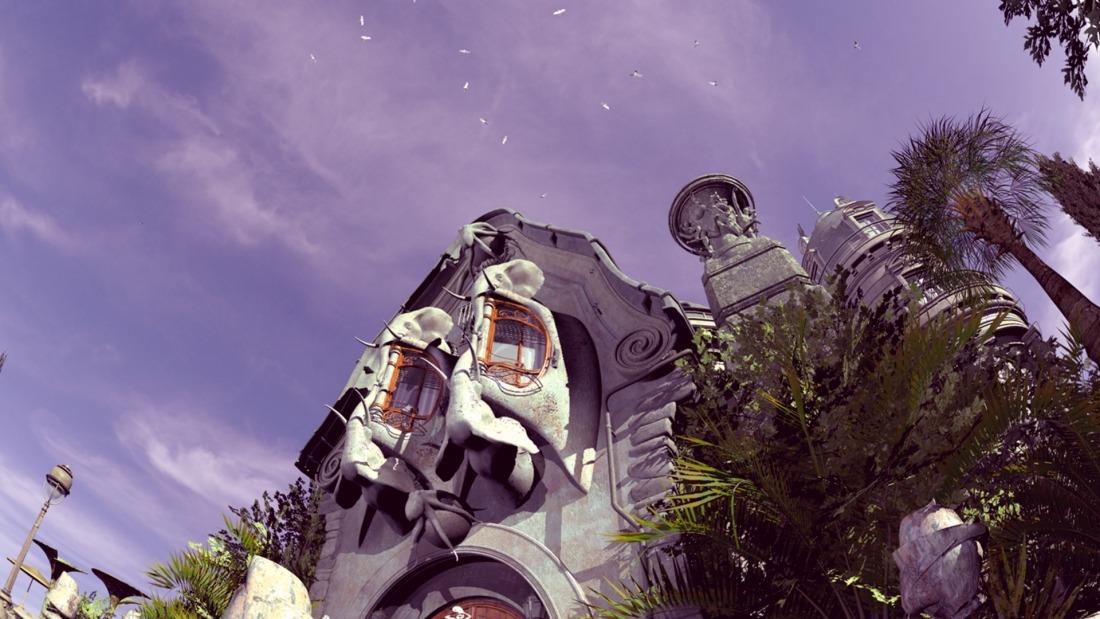 Premiere im Planetarium: Szenenbild aus Voices in the Dark