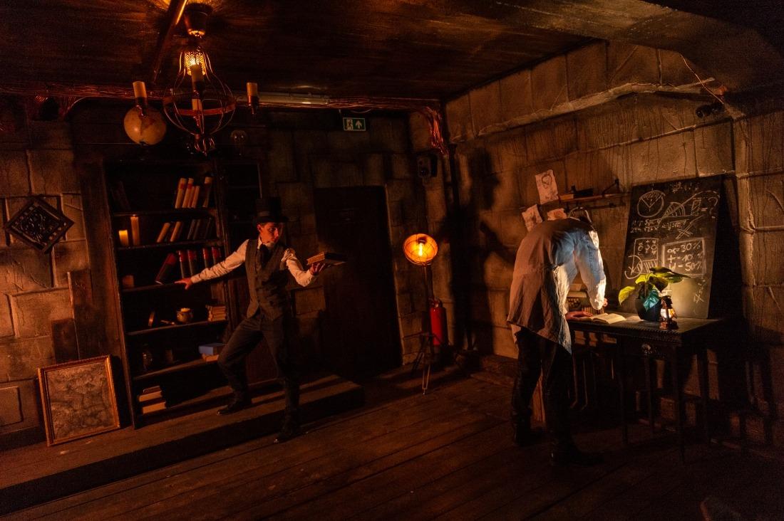 Opolum: Frankensteins Labor