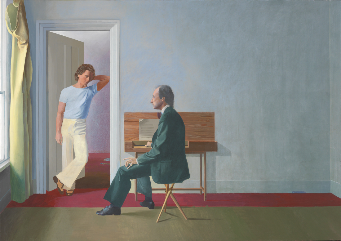 Hockney in Hamburg: George Lawson and Wayne Sleep