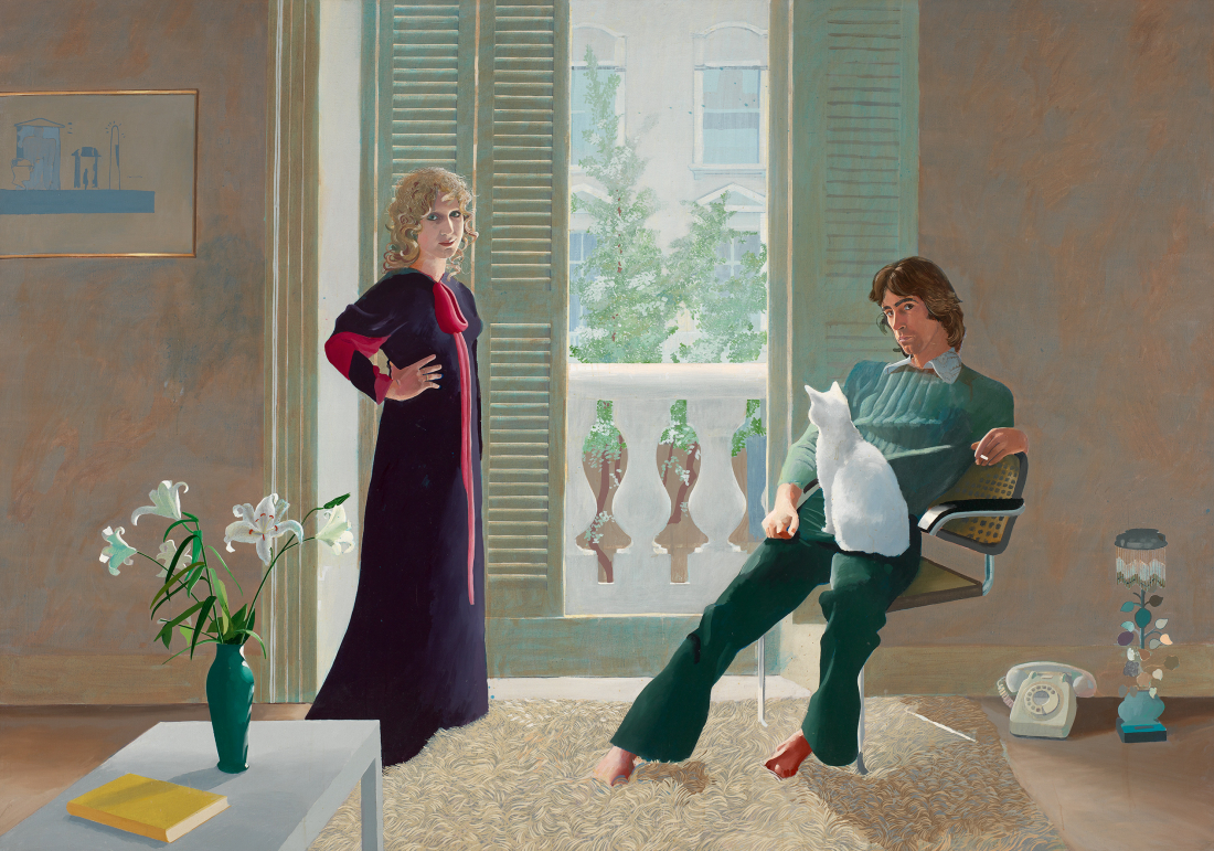Hockney in Hamburg: Das Gemälde Mr und Mrs Clarke and Percy