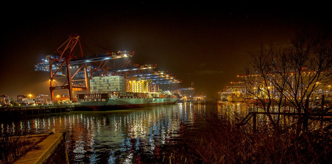 Das Containerterminal Eurogate