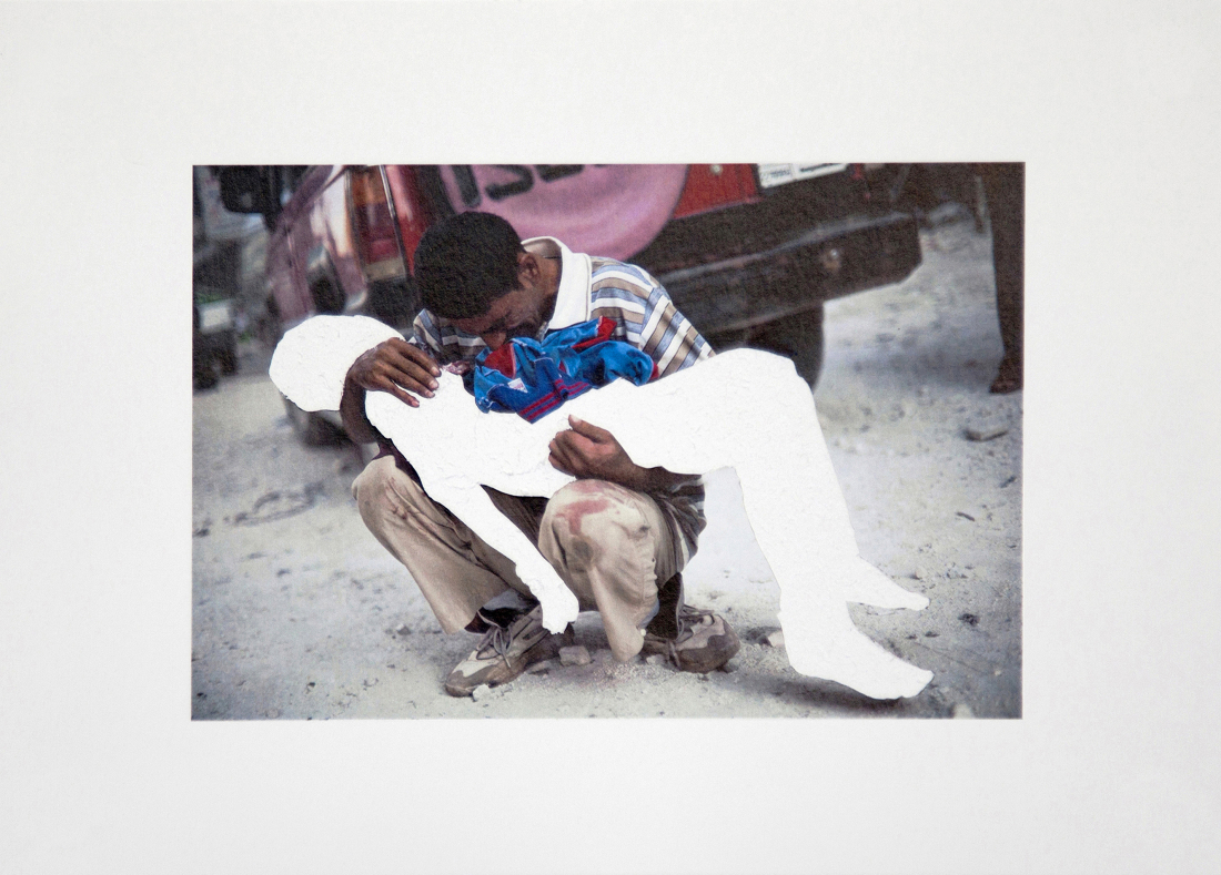 Trauern: Kriegsfoto von Khaled Barakeh