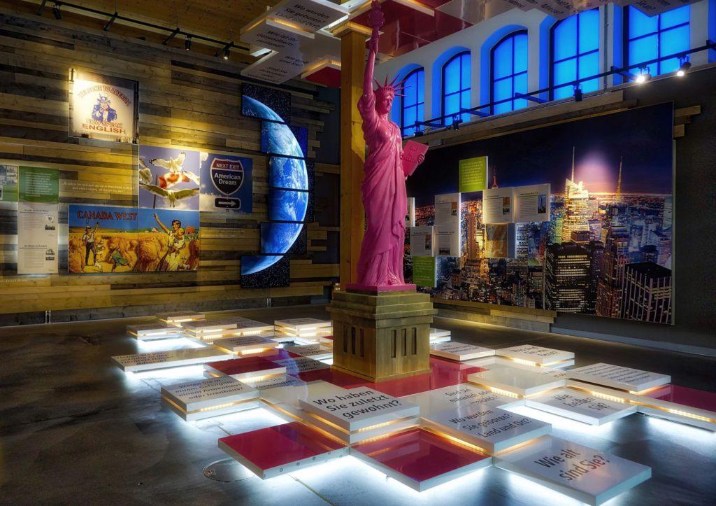 Perle Hamburg: das Auswanderermuseum BallinStadt