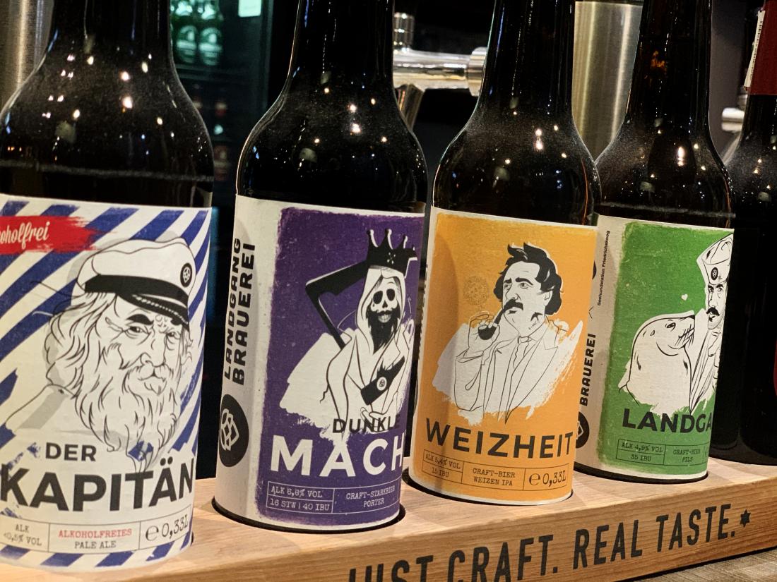 Bier in voller Vielfalt: Hier von Landgang