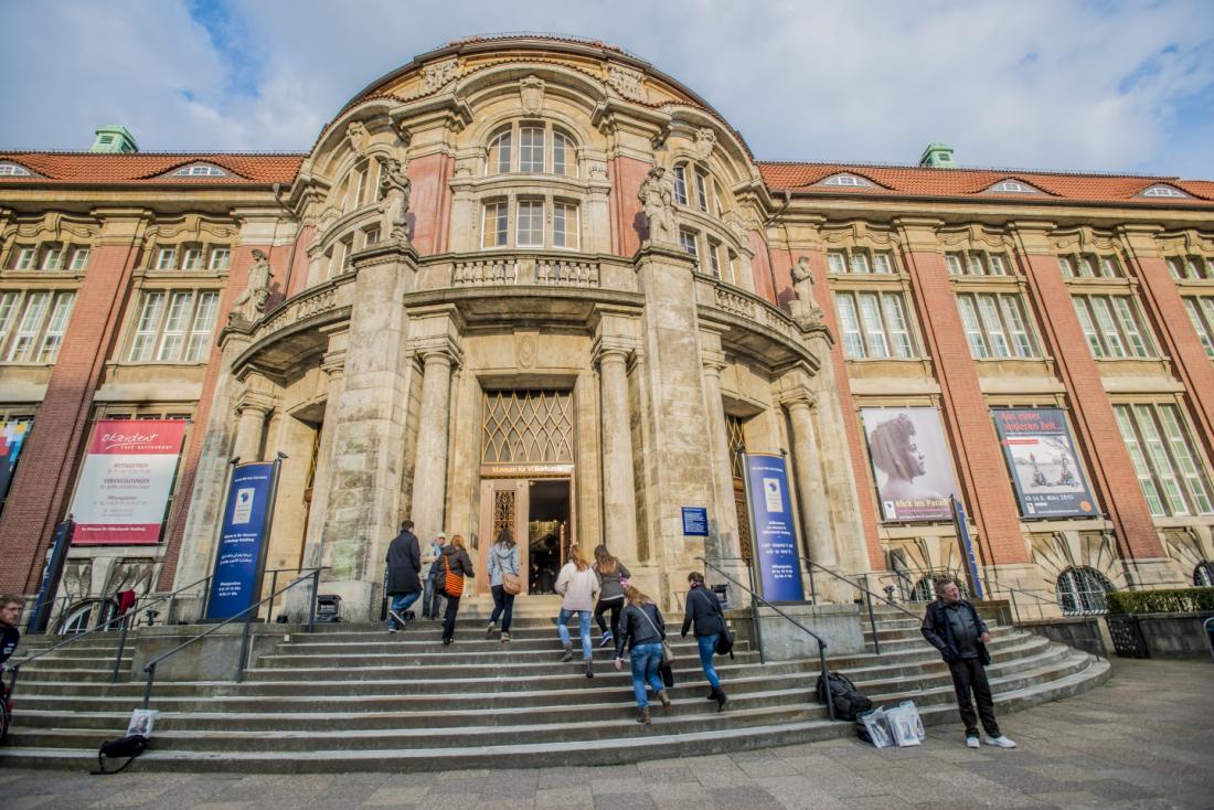 Unterwegs rund um den Grindel: Museum MARKK