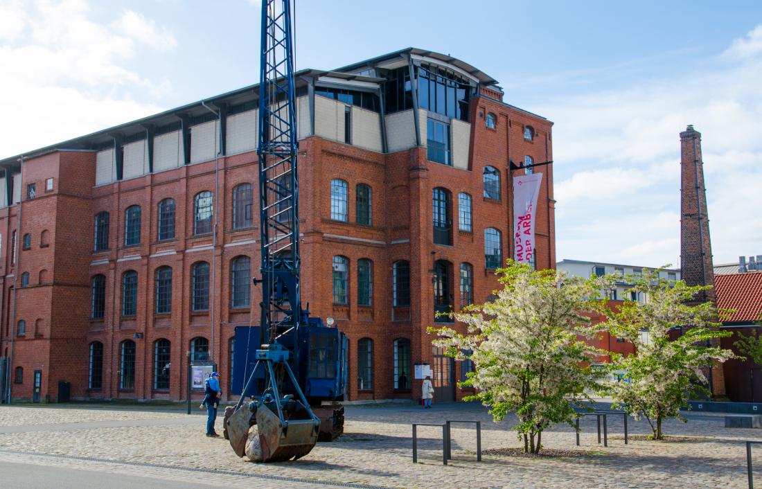 Museum der Arbeit: Außenansicht