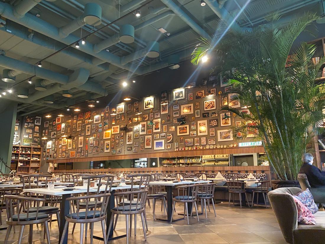Pierdrei: Bildergalerie im Restaurant