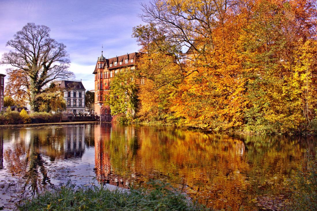 Oktober in Hamburg: Bergedorfer Schloss