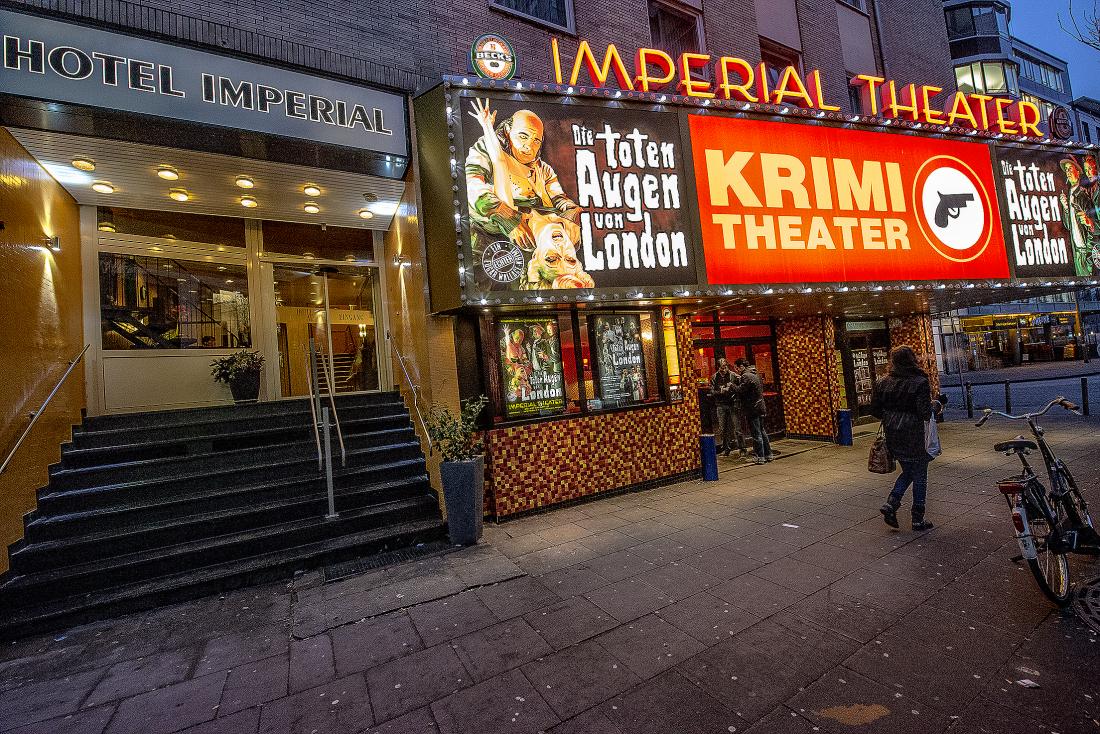 Imperial Theater: Außenansicht