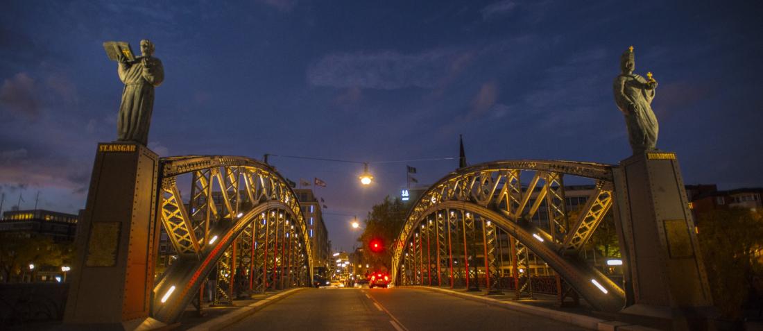 Klassiker Weltkulturerbe: Brooksbrücke