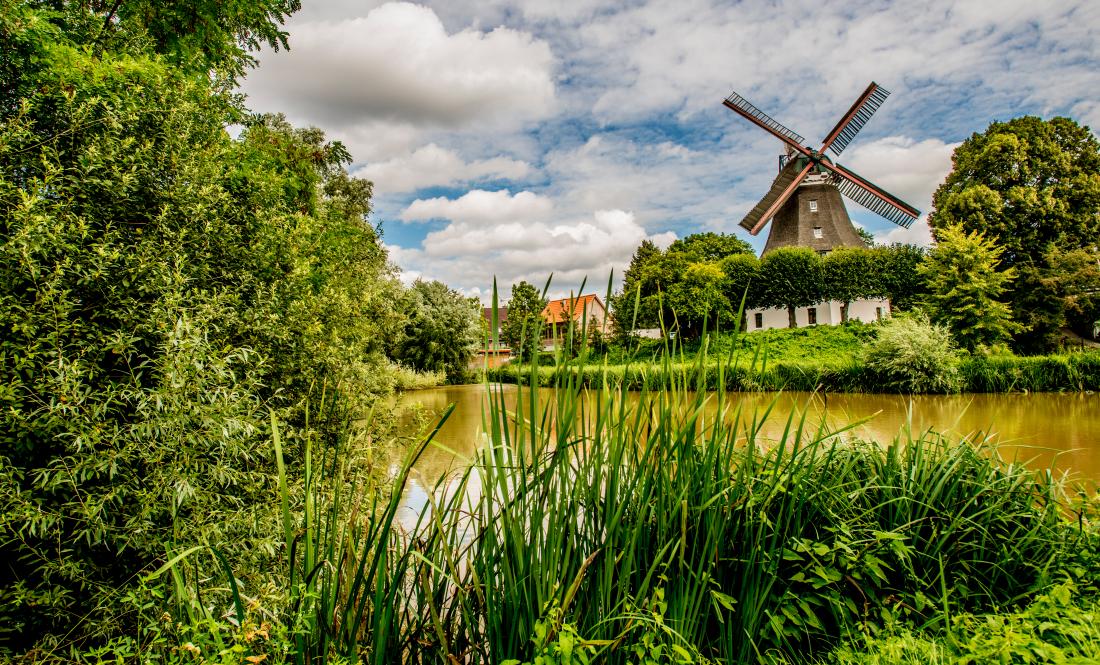 Die Mühle: Windmühle Johanna