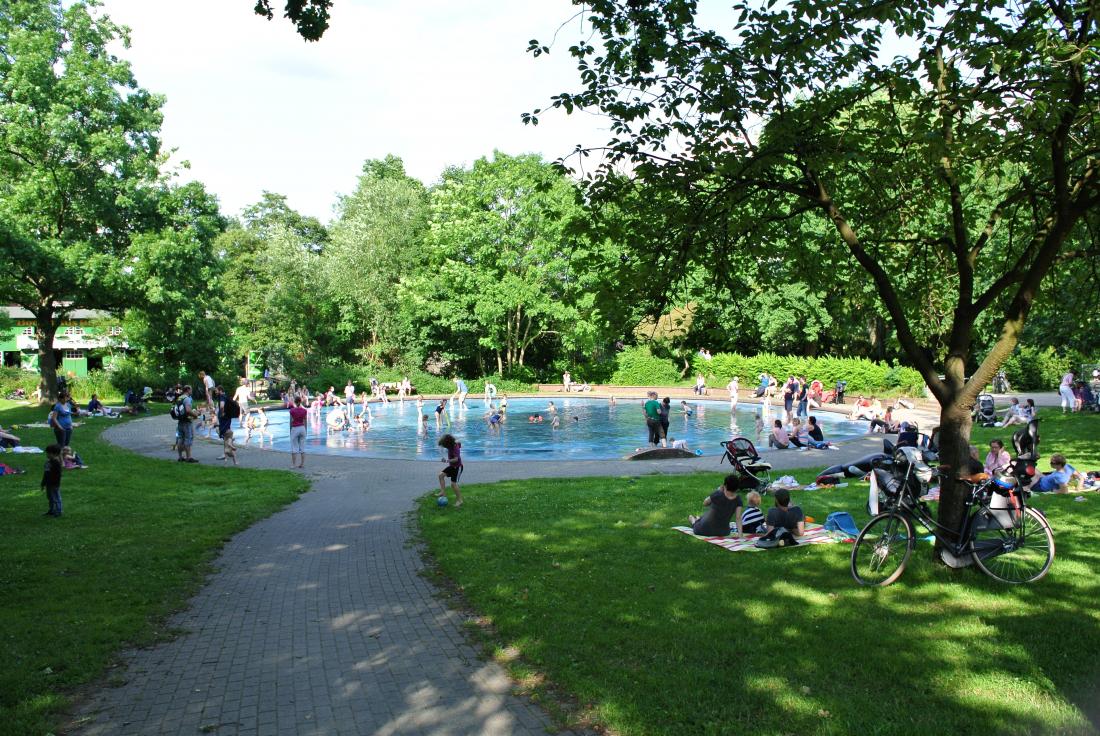 Parks in Hamburg: Hayns Park in Eppendorf
