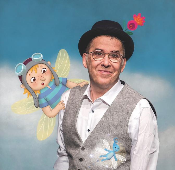 Märchen zum Hören: Christian Berg mit seinem Rumpelröschen