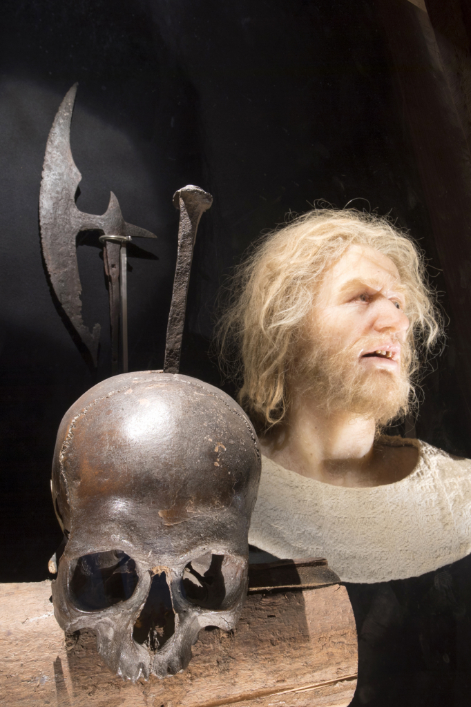 Ein Bild und seine Geschichte: der Schädel Störtebekers und eine Gesichtsrekonstruktion