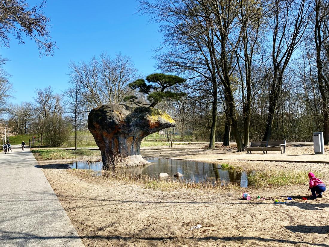 Frische Luft: Inselpark