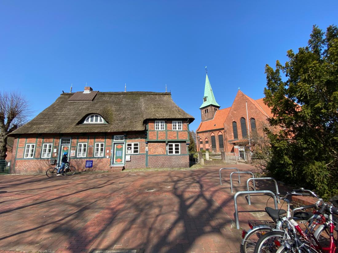 Das älteste Haus von Wilhelmsburg