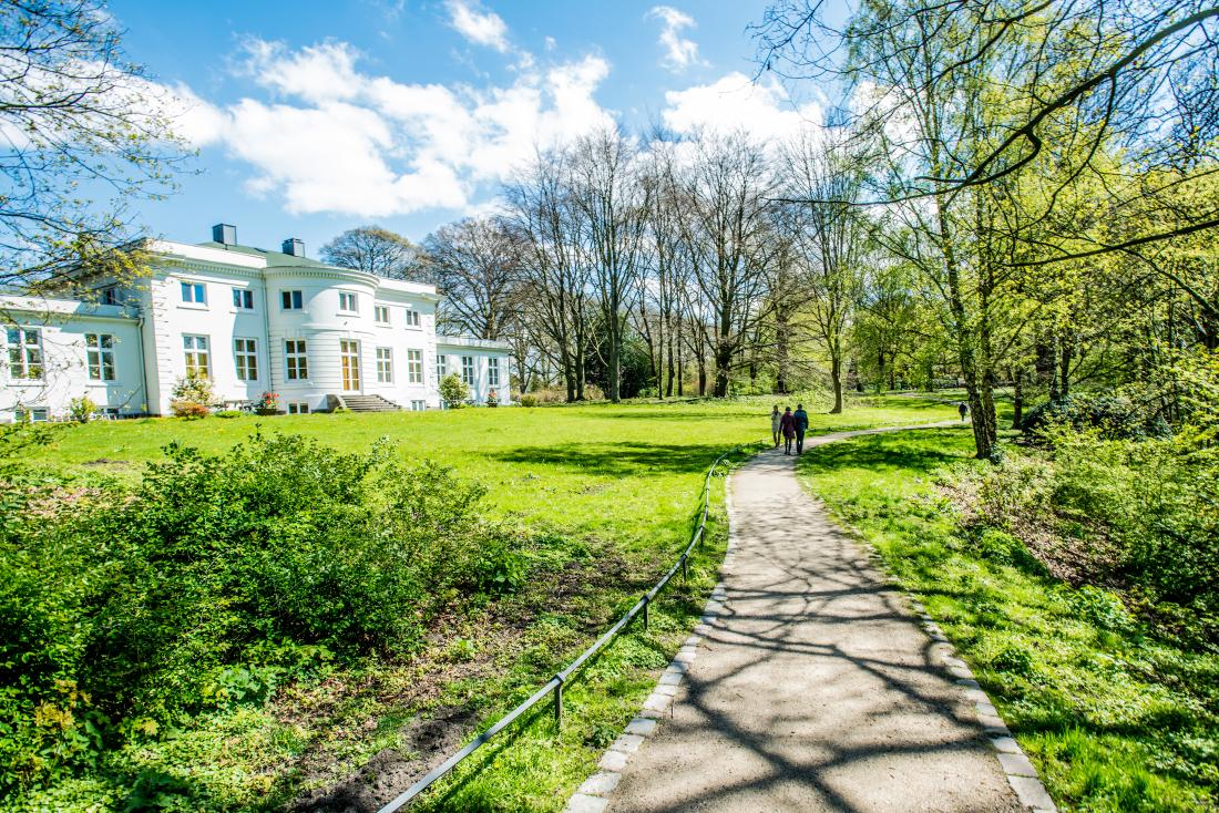 Zum Tag des Fahrrads: Hirschpark