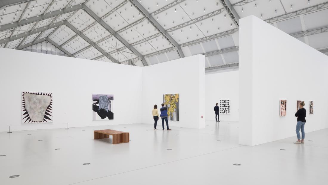 Deichtorhallen: zeitgenössische Kunst