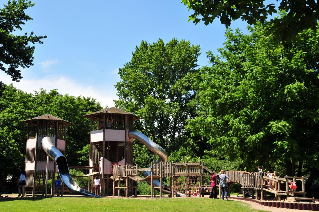 Kid`s Day: Spielplatz Wallanlagen