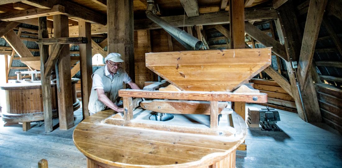 Braaker Mühle von innen