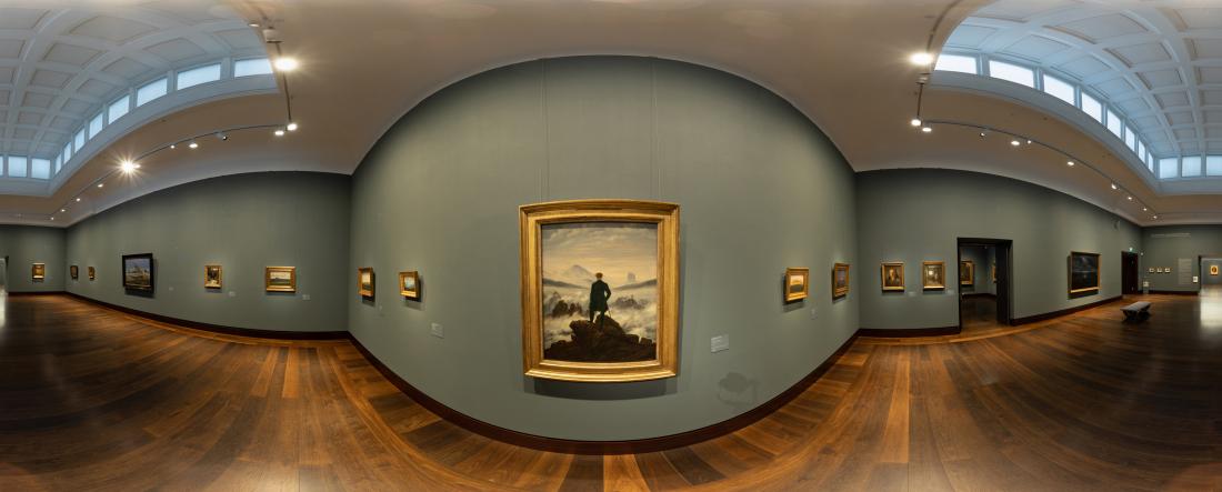 Kunsthalle erleben: Bild von Caspar David Friedrich