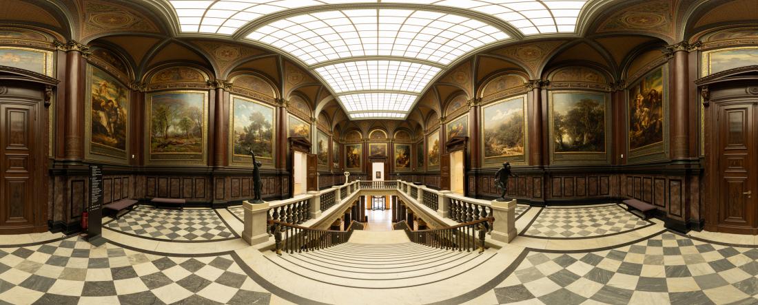 Kunsthalle erleben: Blick ins Treppenhaus