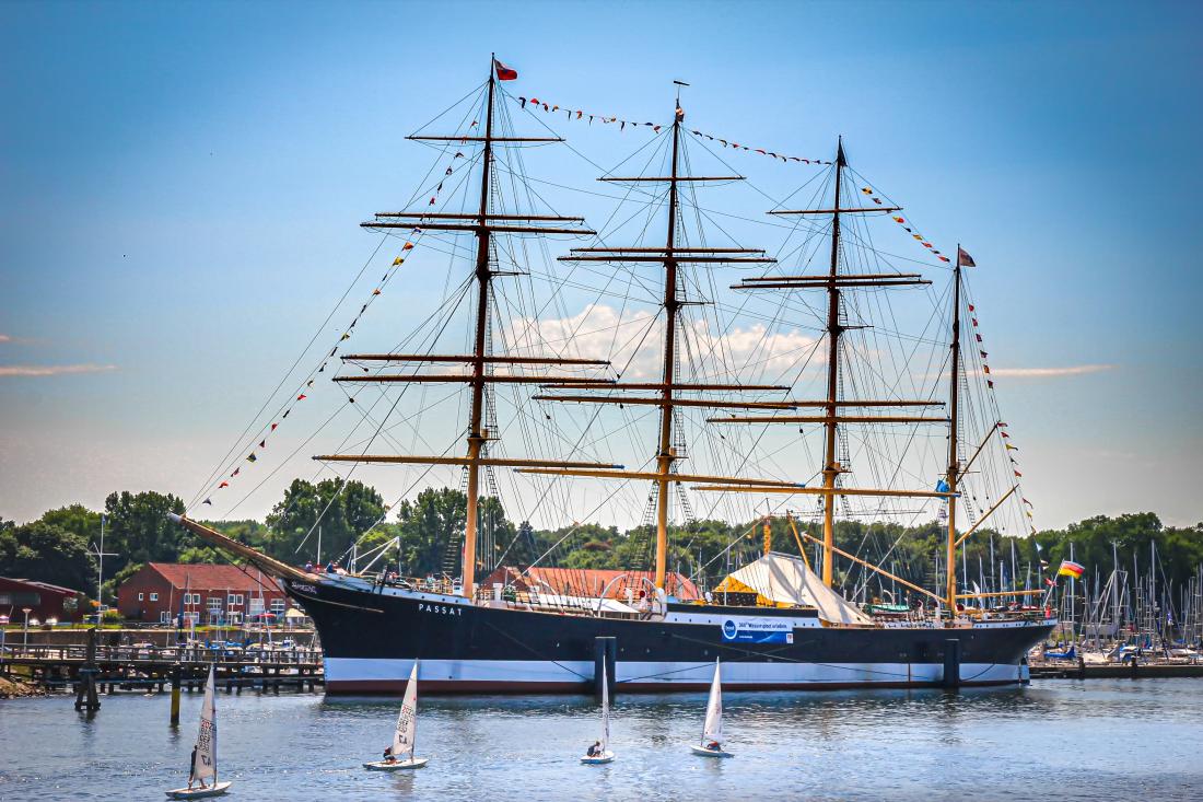 Hamburgs Wohnzimmer: Segelschiff Passat