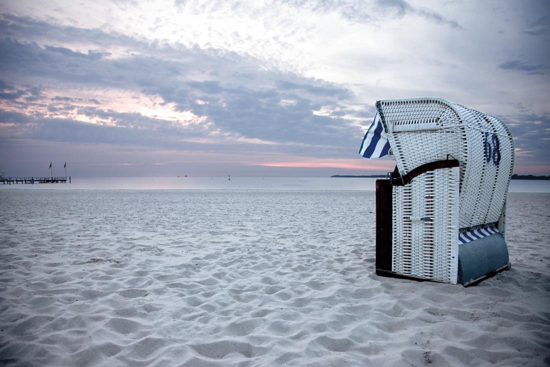 Hamburgs Wohnzimmer: Strand bei Travemünde