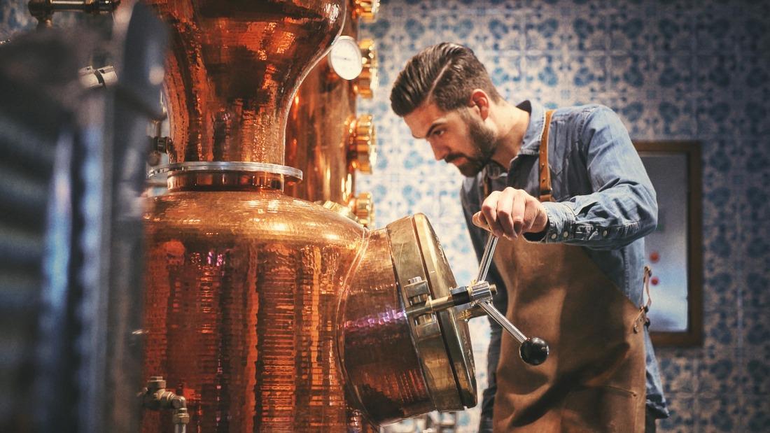 Hochprozentig: Destille von Gin Sul