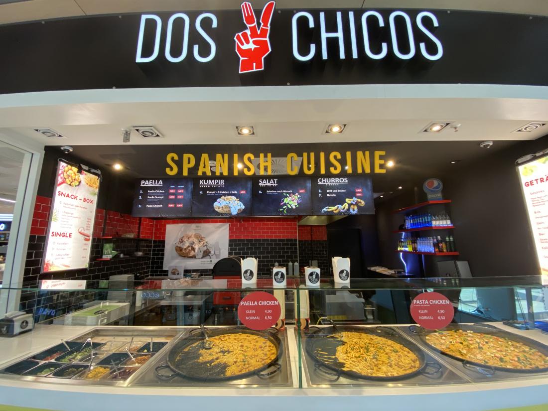Spanische Küche im Dos Chicos