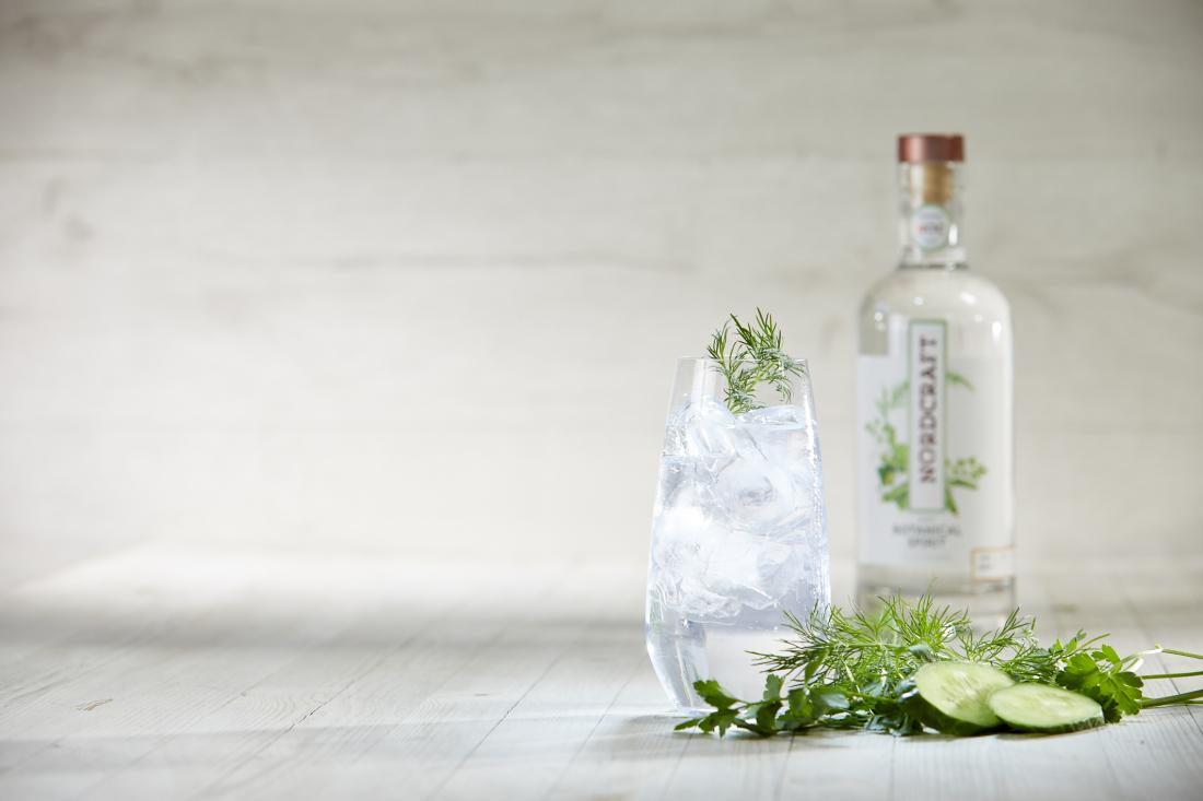Hochprozentig: Gin von Nordcraf mit Tonic