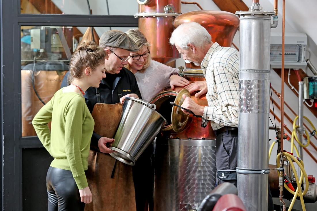 Hochprozentig: Destille von Nordik