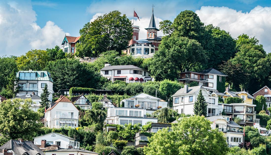 Der schönste Berg der Hansestadt: Blankenese