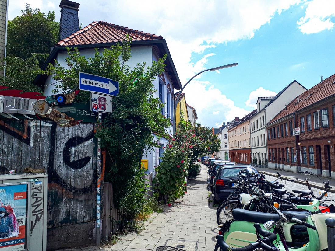 Wohin in Hamburg: Straßenszene Ottensen