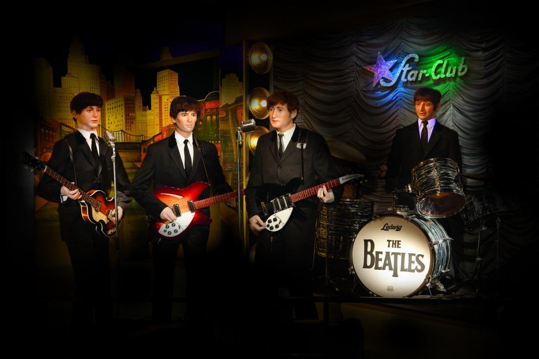 Beatles: die Fab Four im Panoptikum