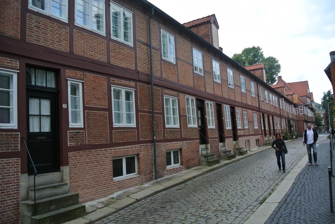 Teile des Gängeviertels wurden aufwendig saniert