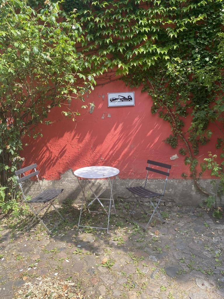Unterwegs in Altona: Hinterhof in Ottensen