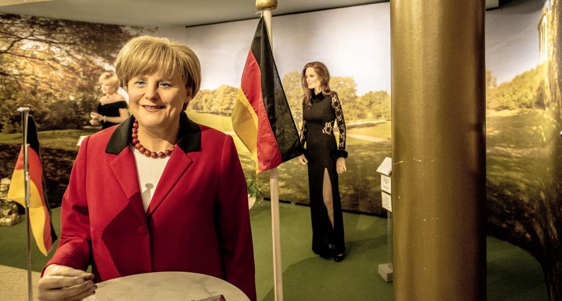 Angela Merkel im Panoptikum
