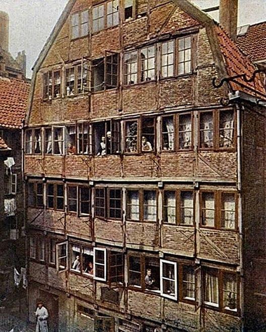 Gängeviertel: Geburtshaus von Brahms
