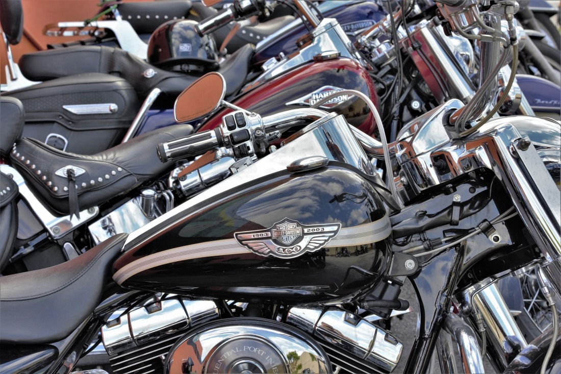 Film ab: Harley-Motorräder