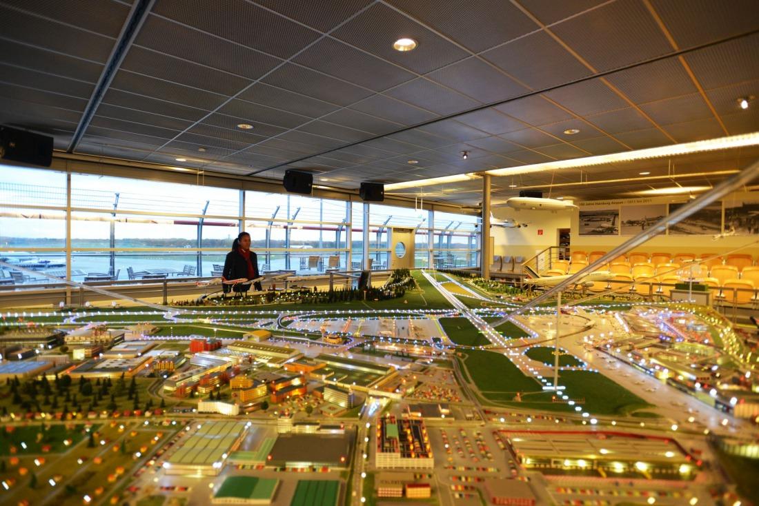 Hamburg für Familien: Miniaturwelt am Airport