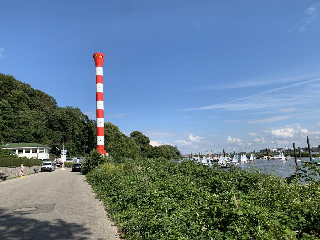 Auskenner: Der neue Leuchtturm in Blankenese