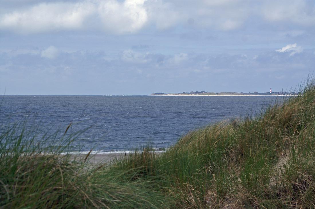 Nordsee im Herbst: Amrum, Blick auf Sylt