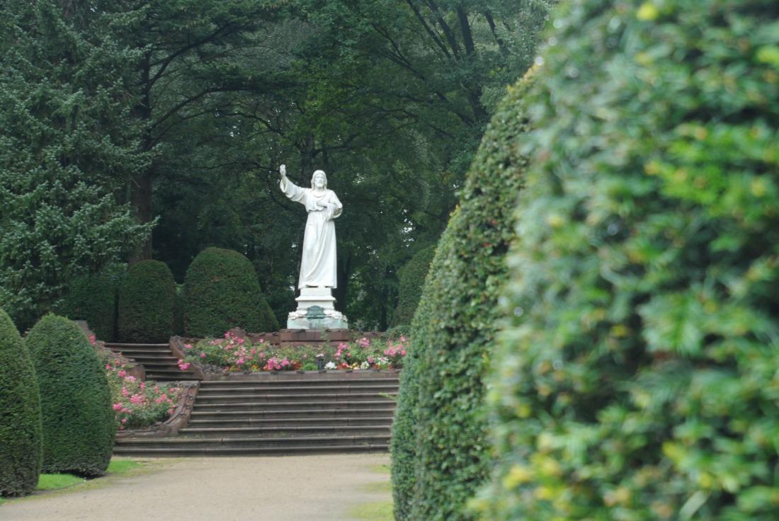 Parkfriedhof Ohlsdorf: Skulptur