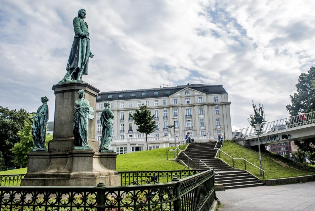 Denkmäler in Hamburg: Schillerdenkmall