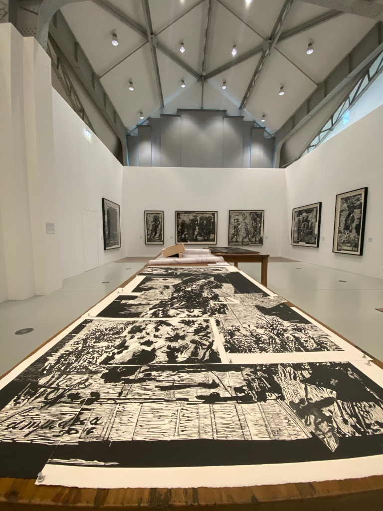 William Kentridge: Schwarz:Weiß-Studien