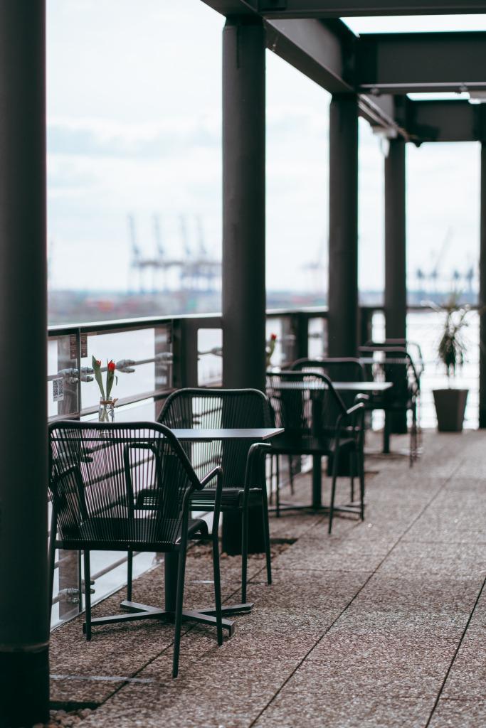 Terrasse des Ginn-Hotels