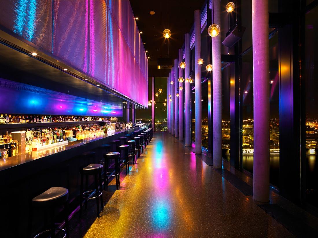 Aussicht: die Skyline Bar 20up