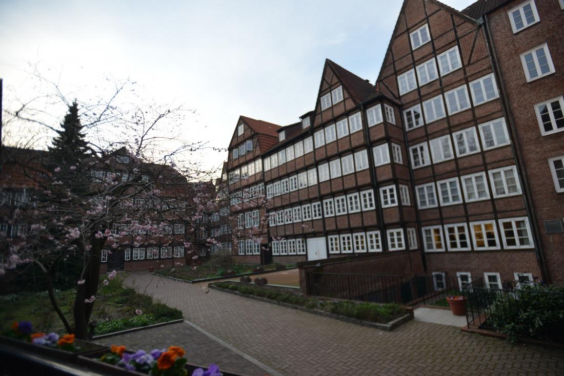 Mogelpackung: die Fachwerkhäuser im Komponistenviertel stammen aus den 60er Jahren