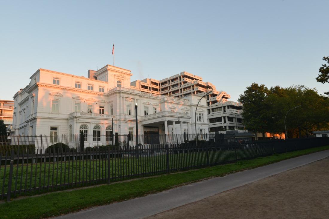 Klassizismus: die US-Botschaft